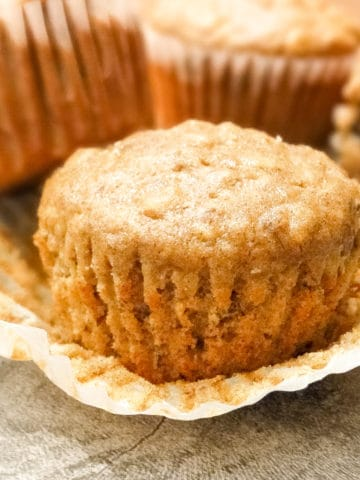 oatmeal flax muffins for breakfast or a snack