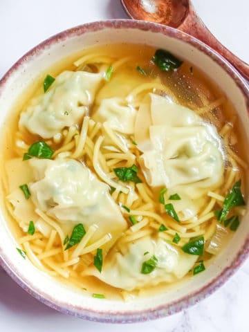 instant pot wonton soup