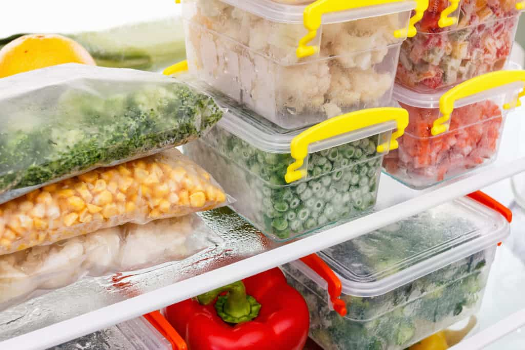 frozen food to stock up in the freezer
