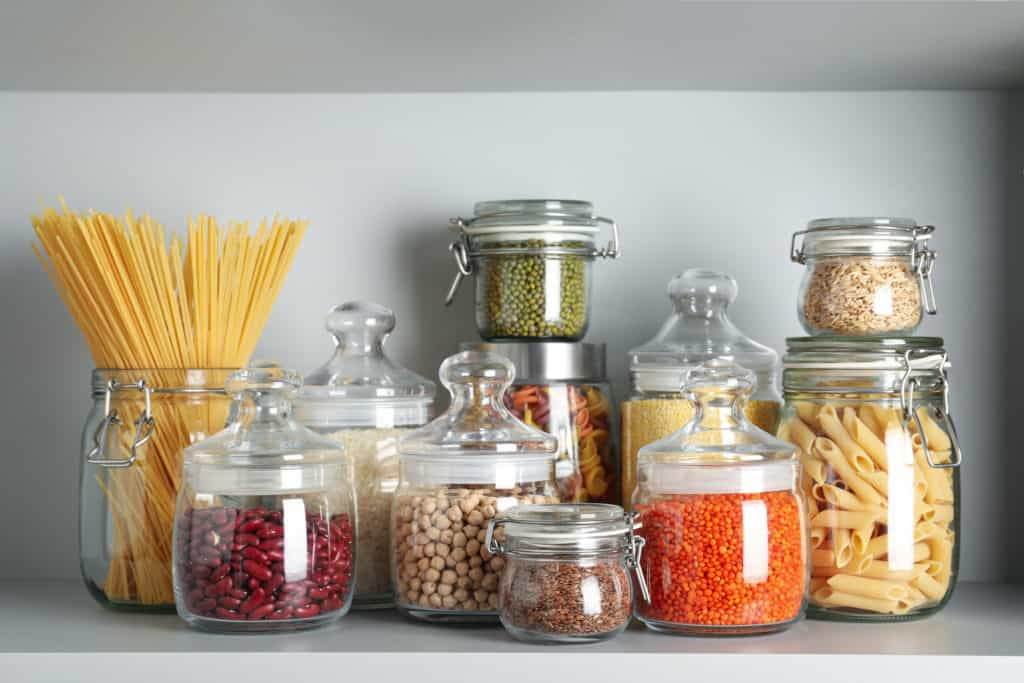 food to stock up on in her pantry