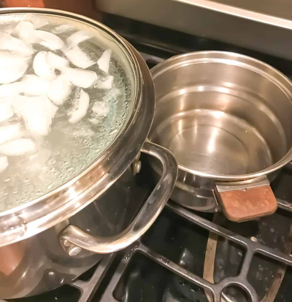 how to make distilled water by using a condensation effect