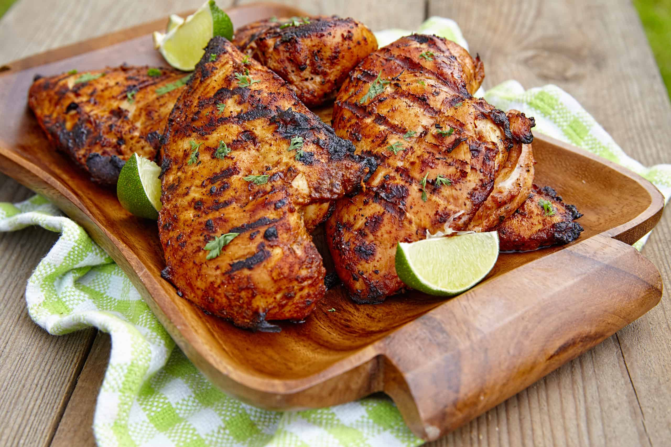 grilled lime chicken recipe with lemon and cilantro