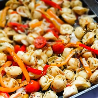 roasted vegetable tortellini recipe