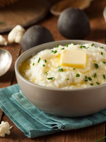 easy mashed cauliflower recipe