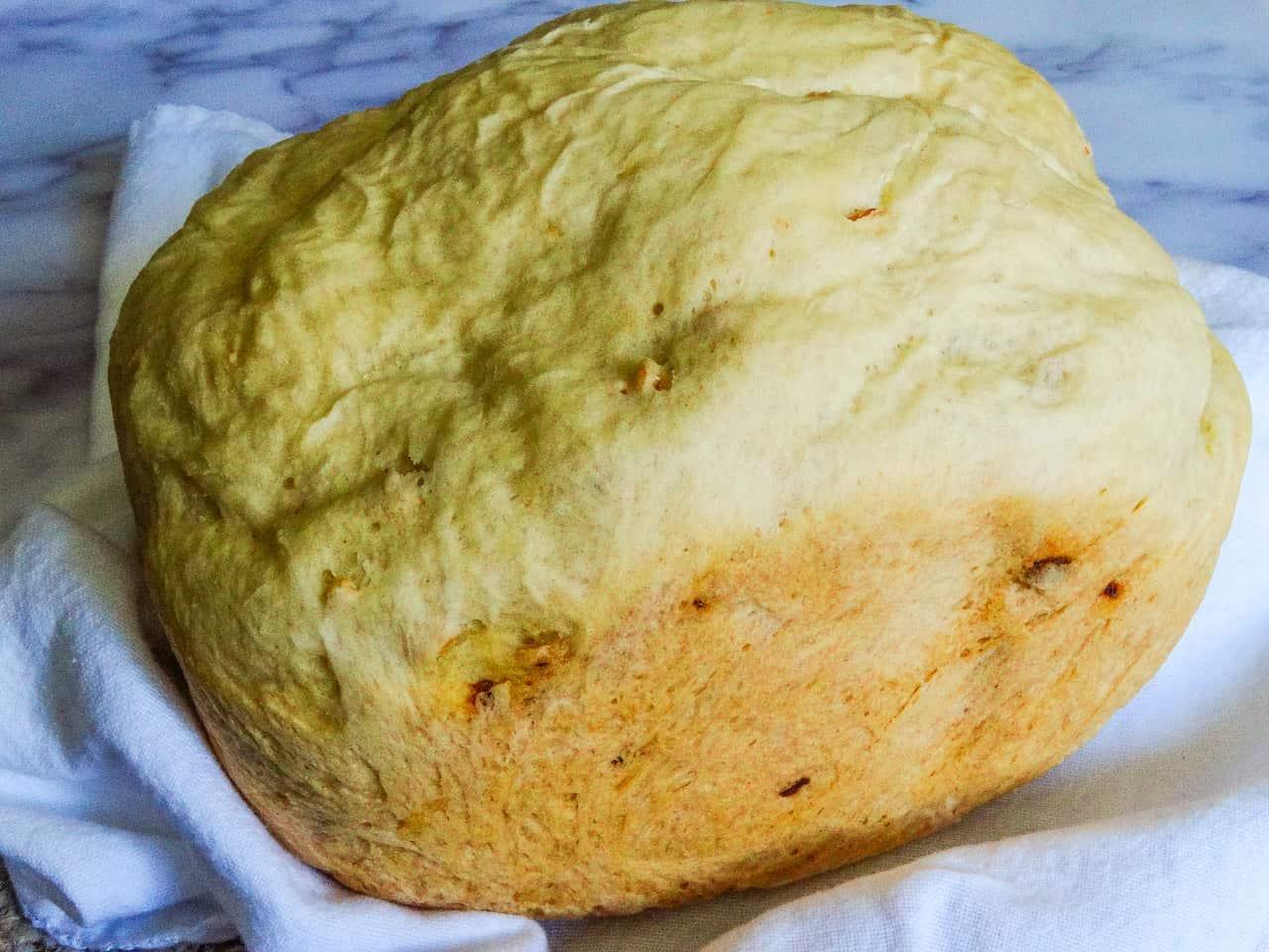 full loaf of bread machine garlic bread
