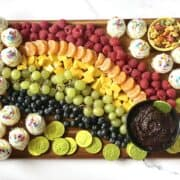 Rainbow Fruit Board
