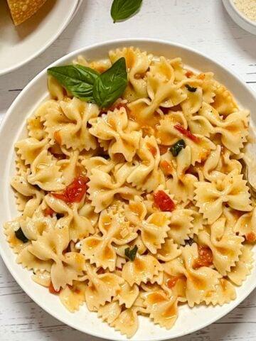 instant pot fresh tomato sauce pasta