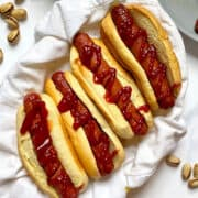 Air Fryer Hot Dogs (Using Fresh or Frozen)
