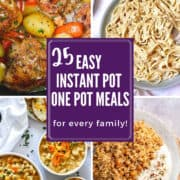 25 Easy and Delicious Instant Pot One Pot Meals