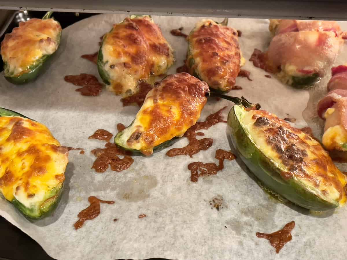 air fried jalapeno poppers in the toaster