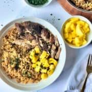 Instant Pot Jamaican Jerk Chicken and Rice